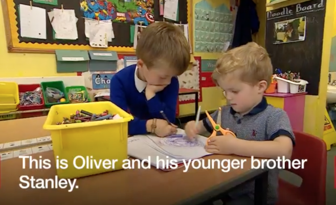 5 year old saves brother from choking by using first aid skills