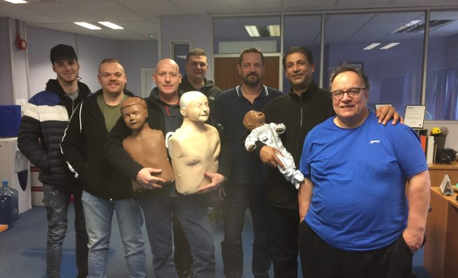 Recent First Aid Course for a Local Business in High Wycombe