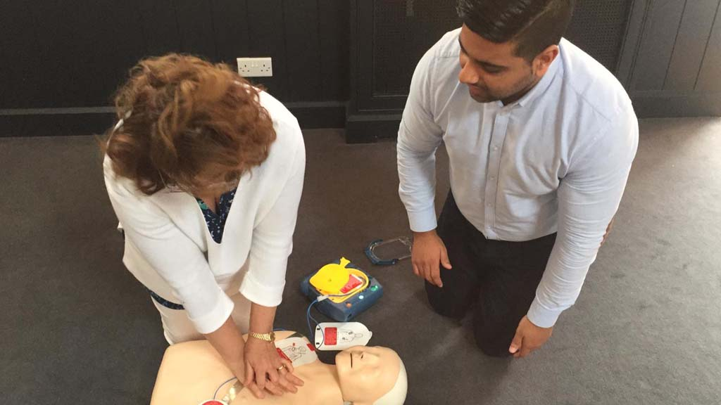 CPR First Aid Training Courses
